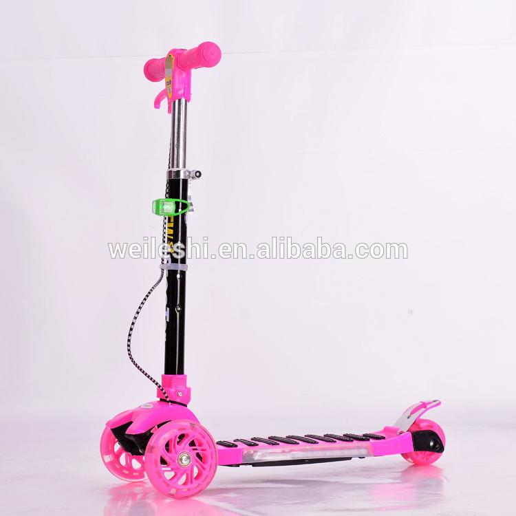 Professional customize pro kick scooters city push adult big wheels 200mm kick scooter made in China