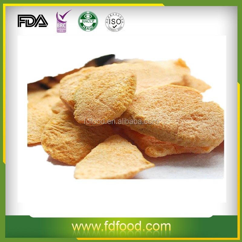 Dried Style and Block Shape Freeze Dried Fruit Apricot