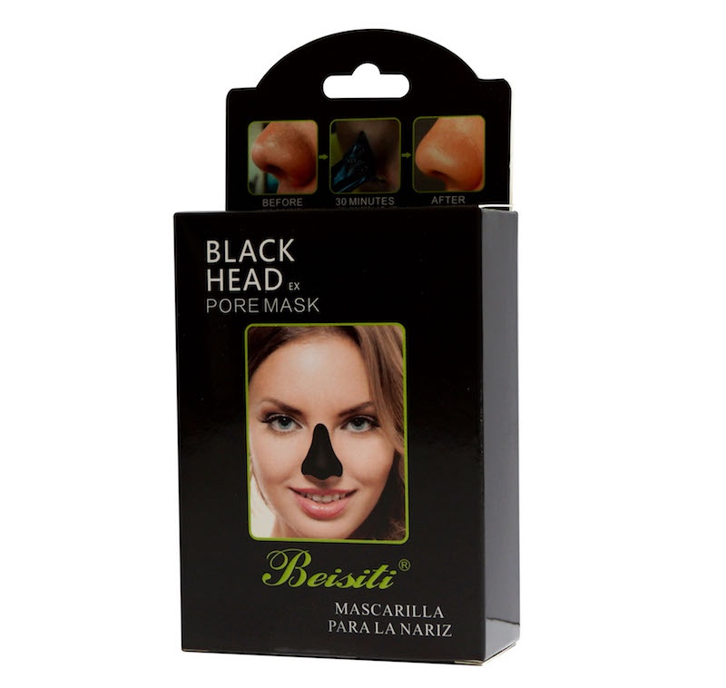 Beisiti Herbal Blackhead Remove Nose Mask Black Mask Mud