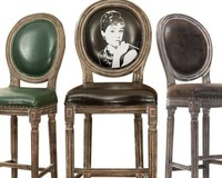 classical Hepburn pattern round back wooden bar chair,wood bar stool chair