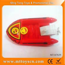 Fun wind up toy cheap small plastic toy boat