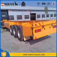 Transport Container Skeleton Semi Tralier With