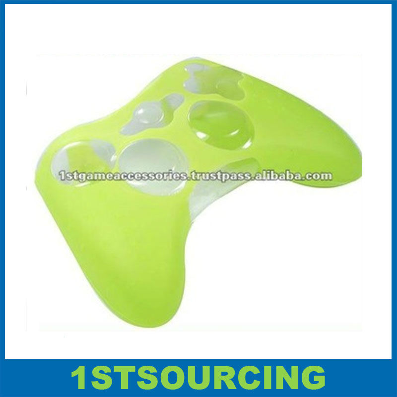 Green silicon case for Xbox360