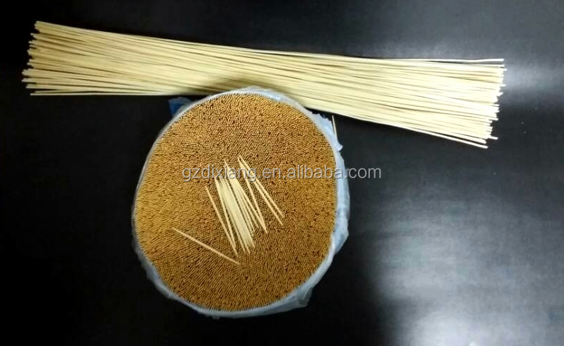 Sanitary cleaning products bamboo two side sharp Toothpick 1kg/bulk