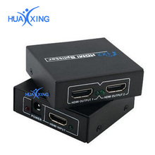 3D 1 in 2 out 4K*2K HDMI Switcher Switch Selector Splitter 1.4 Version For HDTV