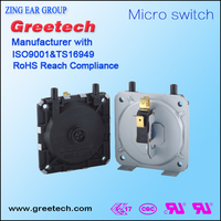 Air compressor water low pressure switch
