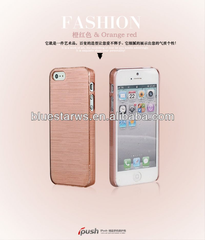 Fashion Candy Color Salad Silking PC Cover Case For Apple Iphone5 new pc case for iphone5