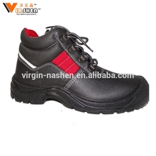Italy anti slip protection shoes industry nubuck leather safety shoes
