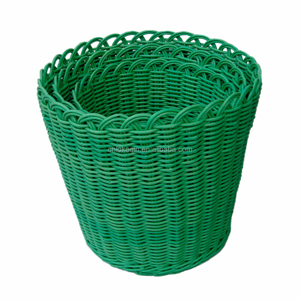 Laundry Basket Factory Custom-made Plastic Round Laundry Basket for Clothing