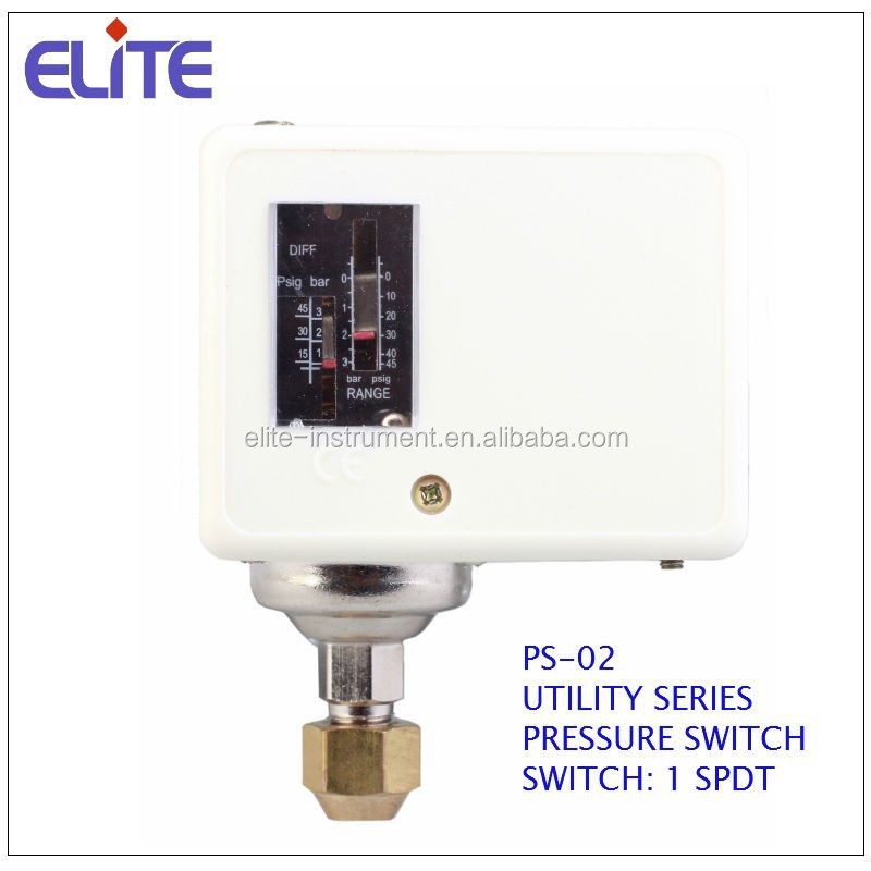 PS-02 UTILITY SERIES PRESSURE SWITCH