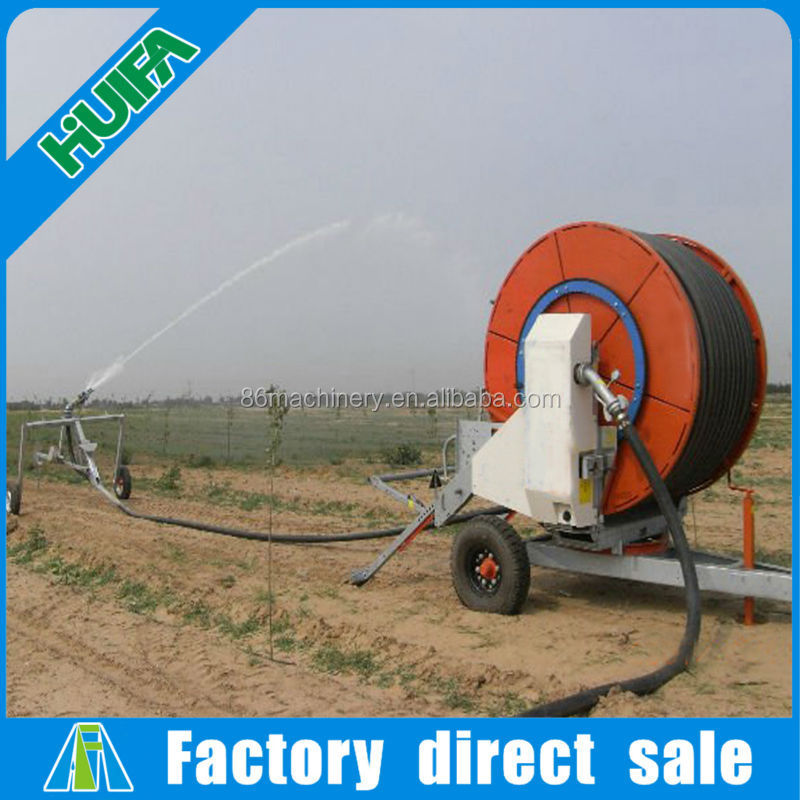 Hot selling reel type irrigation system in Africa