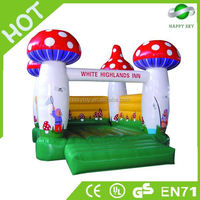 CE Certificate mushroom bouncer,infant bouncer,little bouncer castle