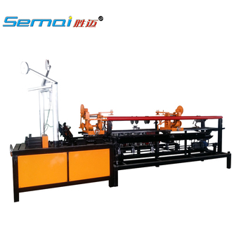 Full-Automatic single wire Chain wire Link Fence Machine