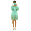Vigin Material OEM Manufacturer Disposable Hospital Isolation Gowns