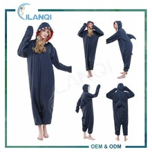 ALQ-A030 Jumpsuit pajamas plus size adult unisex couple onesie