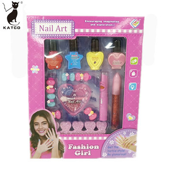 Little Girl Nail Beauty Makeup Set Children's Cosmetics Toys