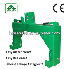 Quick Hitch for Tractor Category two / Useful linkage for tractor implements
