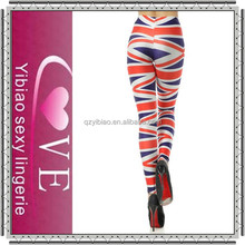 2015 Spring arrival fashion design women dress tights printed leggings