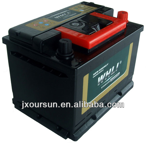 auto spare part 12 volta lead acid battery 64AH 56420 WHLI