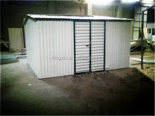 Garden Steel Shed Supplier 8x6ft / Outdor Shed with side hung door