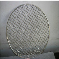 wire mesh for car grills/crimped wire mesh for barbecue