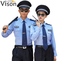 Unisex Guard uniform shirts oem service police girls security guard uniforms for women security clothes guard dress