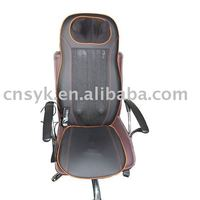 (car,office,home) neck and back electronic multi function massage chair breathable cushion