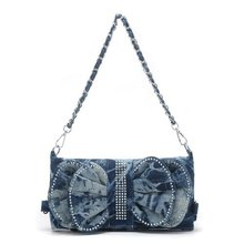 2012 ladies jean shoulder bag G5238