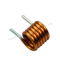 Irregular electric air core coil inductor / air inductive coil / air coil copper