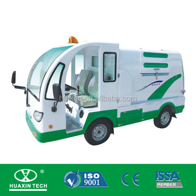Huaxin 3000L compression garbage truck ,1-2ton dustcart, waste collection truck for sale