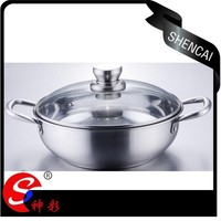 Elegant Stainless Steel Casserole/Cooking pot/Dutch Oven
