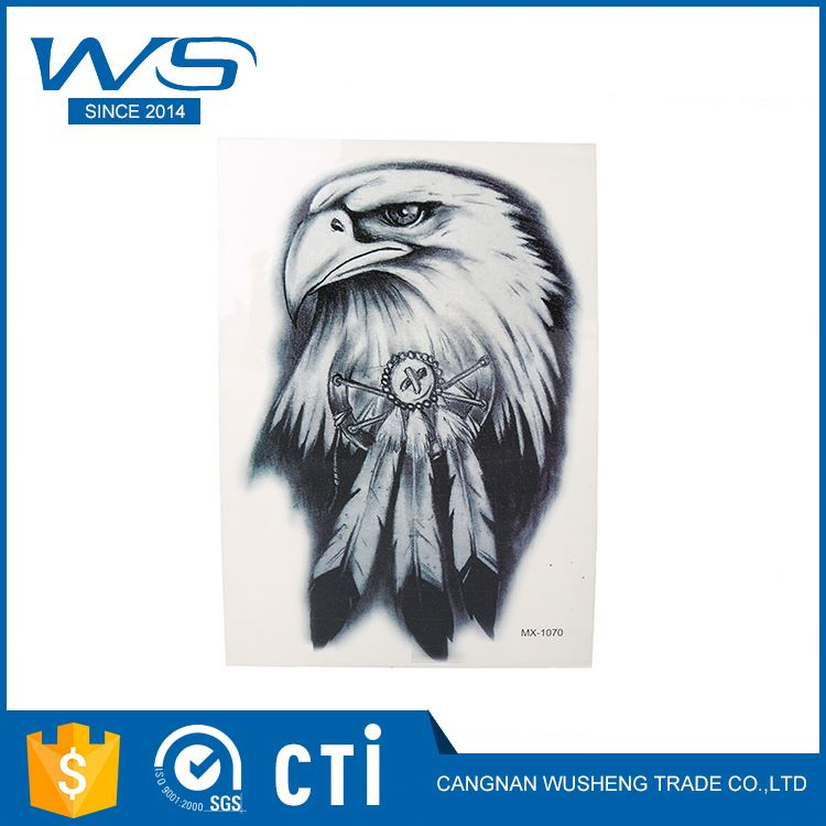 Best selling attractive style fashionable body art 3d flash waterproof tattoo stickers