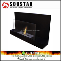 multi stainless steel burner and wooden burning stove fireplace