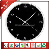 China Plastic Promotion Wall Clock