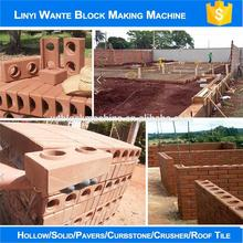 WANTE WT1-25 brick making machine eco brava price,clay brick factory
