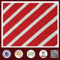 Feimei red white fabric striped fabric cvc striped fabric wholesale