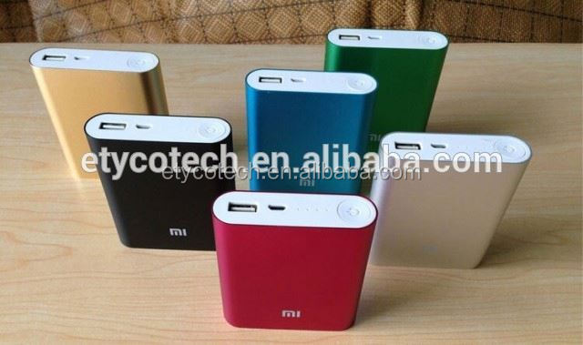 for galaxy note 2 case 10400mAh xiaomi power bank external battery charger