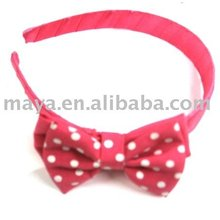 fashion red hair band for teenagers