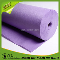 Thermal Stability Grey Waterproof colorful polyester felt