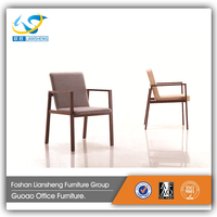 wooden frame office reception leisure chair dining room chair restaurant chair used