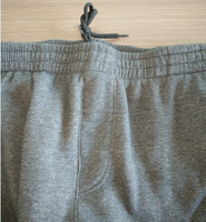 220-250GSM Men's 100%plyester fleece pants with side seam zip pocket