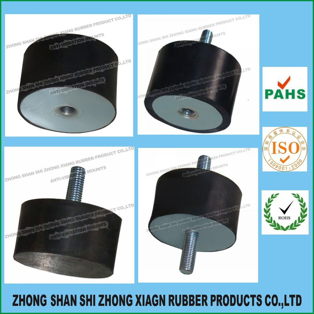 Factory Supply high performance rubber shock absorber ,M3,M4,M5,M6,M8,M10,M12,M16,M20,M24 Various sizes are available