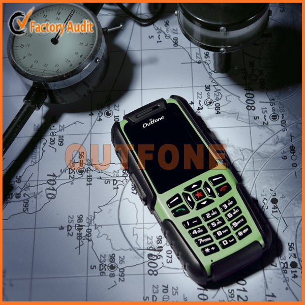 Rugged GPS navigation mobile phone