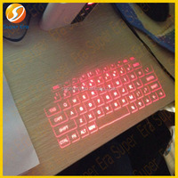 2014 NEWEST infrared laser keyboard for IOS Android mobile phone for macbook for ipad 1 2 3 4 air mini 2---SUPER ERA