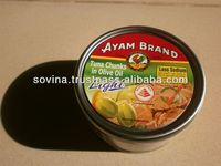 SOVINA- Ayam brand tuna Flakes Sunflower oil 185g