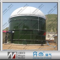 2015 Best Liquid Fertilizer Storage Enamel fermentation septic tanks for biogas