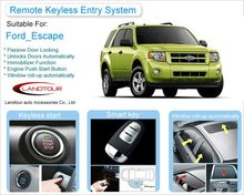 Car Alarm System Shock Sensor with Keyless Entry System for Ford Escape
