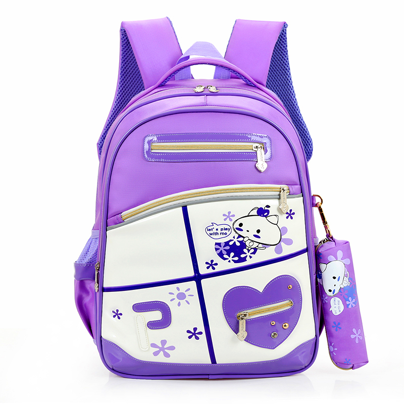 2016 best oxford material designer children's school bag backpacks with customize colour