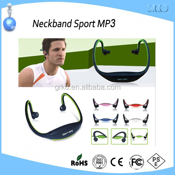 New fashion sport mp3 with TF Card support