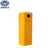 Stainless Waterproof Car park Barrier Gate For RFID Parking Security Solutions